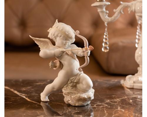 "Lladro ""Прямо к сердцу""  Амур фигурка ангела"