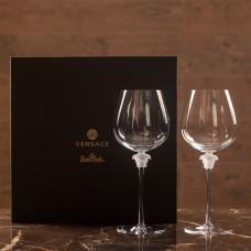 VERSACE Medusa Lumiere Фужеры для красного вина  870 мл. в подарочной коробке.