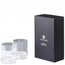 VERSACE medusa Lumiere, хрустальный стакан  для виски 170 мл. в подарочной коробке.