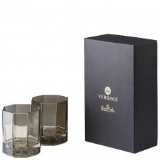 VERSACE medusa Lumiere HAZE  стакан  для виски 170мл., в подарочной коробке.