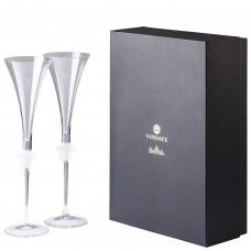 VERSACE Medusa Lumiere фужеры для шампанского 200 мл.,в подарочной коробке.