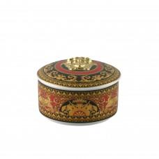 Versace Medusa. Шкатулка 10х7,5h см., фарфор в подарочной коробке.