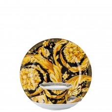 Versace Vanity, подарочный  набор тарелка + чашка и блюдце / 25 лет