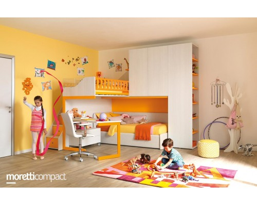 Детская комната Moretticompact (чердак kc 502)