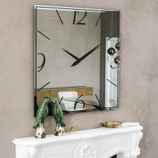 Зеркало/часы Moment от Cattelan Italia, из стекла с шелкографией